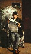 Paul Cezanne The Artist's Father oil on canvas