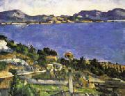 Paul Cezanne L'Estaque oil painting reproduction