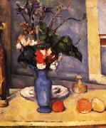 Paul Cezanne The Blue Vase oil painting reproduction