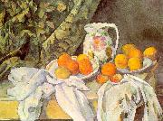 Paul Cezanne Still Life with Drapery oil on canvas