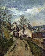 Paul Cezanne The House of Dr Gauchet in Auvers oil painting