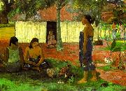 Paul Gauguin Why Are You Angry oil painting