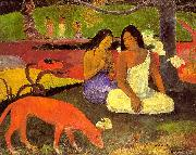 Paul Gauguin Making Merry8 oil painting