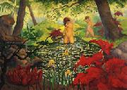 Paul Ranson The Bathing Place(Lotus) oil