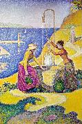 Paul Signac Women at the Well oil painting artist