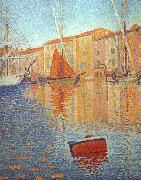 Paul Signac Red Buoy oil painting artist