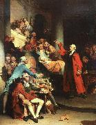 Peter F Rothermel Patrick Henry in the House of Burgesses of Virginia, Delivering his Celebrated Speech Against the St oil