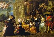 Peter Paul Rubens The Garden of Love oil on canvas