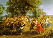 Peter Paul Rubens A Peasant Dance oil on canvas