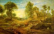 Peter Paul Rubens Landscape with a Watering Place oil on canvas