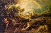 Peter Paul Rubens Landscape with a Rainbow oil on canvas