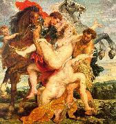 Peter Paul Rubens The Rape of the Daughters of Leucippus oil on canvas