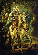 Peter Paul Rubens Equestrian Portrait of the Duke of Lerma oil on canvas