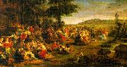 Peter Paul Rubens The Village Wedding oil on canvas