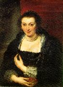 Peter Paul Rubens Isabella Brandt oil on canvas