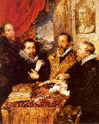 Peter Paul Rubens The Four Philosophers oil on canvas