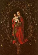Petrus Christus Our Lady of the Barren Tree oil on canvas