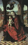 Petrus Christus The Virgin and the Child oil on canvas