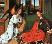 Petrus Christus Annunciation1 oil on canvas