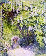 Philip Leslie Hale Wisteria oil on canvas