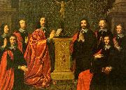 Philippe de Champaigne The Aldermen of the City of Paris china oil painting artist