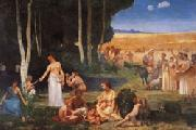 Pierre Puvis de Chavannes Summer oil painting reproduction