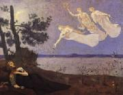 Pierre Puvis de Chavannes The Dream oil on canvas