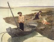 Pierre Puvis de Chavannes The Poor Fisherman oil on canvas