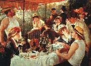 Pierre Renoir Luncheon of the Boating Party oil