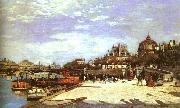 Pierre Renoir The Pont des Arts the Institut de France oil painting reproduction