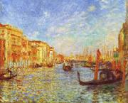 Pierre Renoir Grand Canal, Venice oil painting reproduction