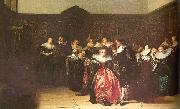 Pieter Codde Merry Company 2 oil on canvas