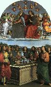 Raphael Coronation of the Virgin oil painting reproduction