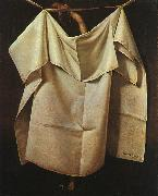 Raphaelle Peale After the Bath oil