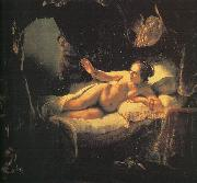 Rembrandt Danae oil painting reproduction