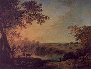 Richard  Wilson View in Windsor Great Park oil