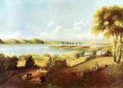Robert Havell Jr Prints Land of Promise oil painting reproduction