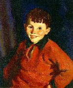 Robert Henri Smiling Tom oil