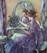 Robert Reid The Violet Kimino oil