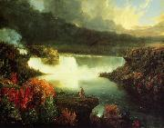Thomas Cole Niagara Falls oil painting reproduction