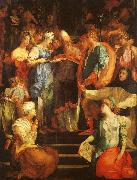 Rosso Fiorentino Marriage of The Virgin oil