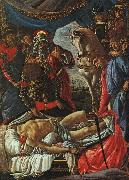 Sandro Botticelli The Discovery of the Body of Holofernes oil painting