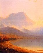 Sanford Robinson Gifford Morning in the Adirondacks oil