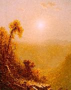 Sanford Robinson Gifford October in the Catskills painting