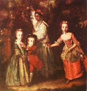 Sir Joshua Reynolds The Children of Edward Hollen Cruttenden oil
