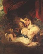 Sir Joshua Reynolds Cupid Unfastens the Belt of Venus oil