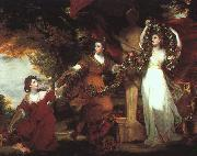 Sir Joshua Reynolds Ladies Adorning a Term of Hymen oil