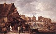 TENIERS, David the Younger Village Feast dtg china oil painting artist