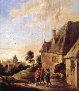 TENIERS, David the Younger Village Scene  ar china oil painting artist