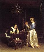 TERBORCH, Gerard Woman Reading a Letter srt oil painting reproduction